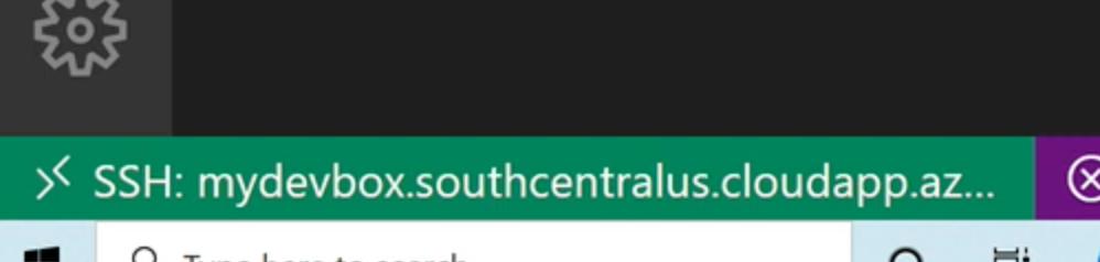 vscode-ssh-connection-established